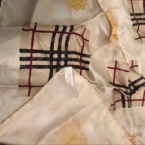 Burberry London 100% Silk scarf